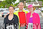 Pictured at the 10K run Summer Solstice in aid of the Irish heart foundation in Tralee on Saturday from left  Jeanette Murphy, Alan Mulgrew and Sharon Condon
