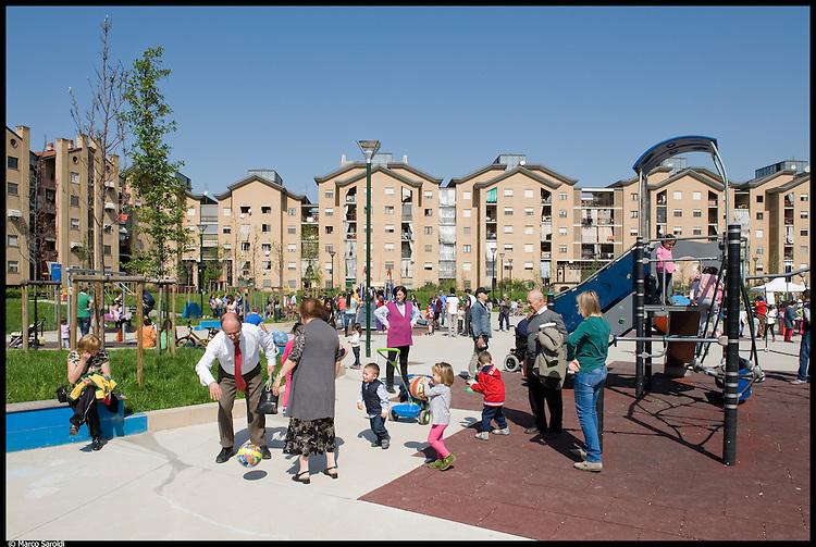 CIRCOSCRIZIONE 6 - Giardini ex CEAT in via Leoncavallo. Festa di Primavera.