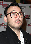 Steve Byrne sporting a pair of signature 'Ralphie' specs at the Broadway Opening Night Performance for 'A Christmas Story - The Musical'  at the Lunt Fontanne Theatre in New York City on 11/19/2012.