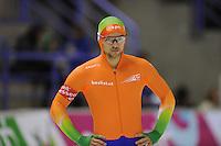 SCHAATSEN: CALGARY: Olympic Oval, 08-11-2013, Essent ISU World Cup, 500m, Jesper Hospes (NED),  ©foto Martin de Jong
