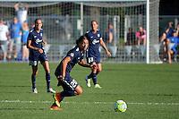 Kansas City, MO - Sunday September 04, 2016: Samantha Kerr during a regular season National Women's Soccer League (NWSL) match between FC Kansas City and the Sky Blue FC at Swope Soccer Village.