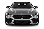 Car photography straight front view of a 2020 BMW M8 M8-Competition 2 Door Coupe Front View