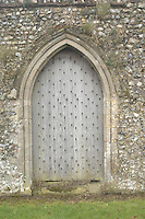 Pic by Si Barber  - 07739 472 922<br /> Creake Abbey in North Norfolk. Image shows - doorway leading from abbey to house.