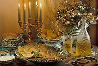 """Europe/Autriche/Salzbourg : Repas de Noël - La carpe de Noël du restaurant de l'hôtel """"Schloss Fuschl"""""""