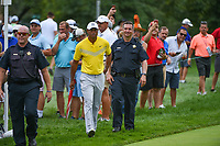Tiger Woods (USA) makes his way to the tee on 6 during Rd3 of the 2019 BMW Championship, Medinah Golf Club, Chicago, Illinois, USA. 8/17/2019.<br /> Picture Ken Murray / Golffile.ie<br /> <br /> All photo usage must carry mandatory copyright credit (© Golffile   Ken Murray)