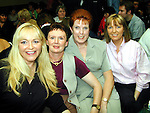 Sharon Lowthe, Rita Geraghty, Catherine Hoare and Tina Murray at the Millenium Hair Show in O'Neill's Duleek..Picture Paul Mohan Newsfile