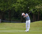 23.05.2015. Wentworth, England. BMW PGA Golf Championship. Round 3.  Soren  Kjedsen [DEN]  second shot on the 6th hole, during the third round of the 2015 BMW PGA Championship from The West Course Wentworth Golf Club