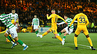 4th March 2020; Almondvale Stadium, Livingston, West Lothian, Scotland; Scottish Premiership Football, Livingston versus Celtic; Callum McGregor of Celtic makes it 1-0 to Celtic in the 16th minute of the match