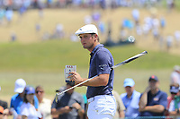 Bryson DeChambeau (USA) on the 8th green during Saturday's Round 3 of the 118th U.S. Open Championship 2018, held at Shinnecock Hills Club, Southampton, New Jersey, USA. 16th June 2018.<br /> Picture: Eoin Clarke | Golffile<br /> <br /> <br /> All photos usage must carry mandatory copyright credit (&copy; Golffile | Eoin Clarke)