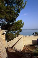 Italien, Umbrien, Castiglione del Lago, Burg Rocca del Leone