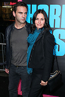 HOLLYWOOD, LOS ANGELES, CA, USA - NOVEMBER 20: Johnny McDaid and Courteney Cox arrive at the Los Angeles Premiere Of Warner Bros. Pictures' 'Horrible Bosses 2' held at the TCL Chinese Theatre on November 20, 2014 in Hollywood, Los Angeles, California, United States. (Photo by Xavier Collin/Celebrity Monitor)