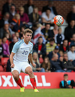 Ryan Ledson (Oxford United) of England during the International match between England U20 and Brazil U20 at the Aggborough Stadium, Kidderminster, England on 4 September 2016. Photo by Andy Rowland / PRiME Media Images.