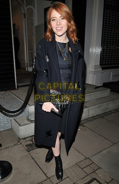 Angela Scanlon attends the Stella McCartney 2015 Christmas Lights switch on party, Stella McCartney boutique, Bruton Street, London, England, UK, on Wednesday 25 November 2015.<br /> CAP/CAN<br /> &copy;CAN/Capital Pictures