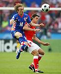 EM Fotos Fussball UEFA Europameisterschaft 2008: Oesterreich - Kroatien