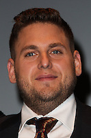 SANTA BARBARA, CA - FEBRUARY 06: Jonah Hill at the 29th Santa Barbara International Film Festival - Honoring Martin Scorsese And Leonardo DiCaprio With The Cinema Vanguard Award held at Arlington Theatre on February 6, 2014 in Santa Barbara, California. (Photo by Xavier Collin/Celebrity Monitor)