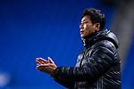 Ulsan Hyundai Head Coach Kim Do Hoon during the AFC Champions League 2017 Group E match between  Ulsan Hyundai FC (KOR) vs Muangthong United (THA) at the Ulsan Munsu Football Stadium on 14 March 2017 in Ulsan, South Korea. Photo by Chung Yan Man / Power Sport Images