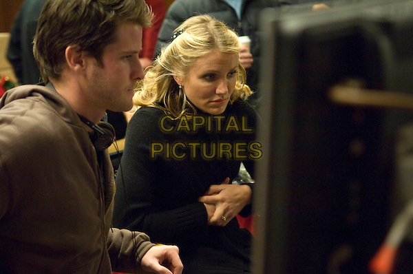Director RICHARD KELLY and CAMERON DIAZ.as Arthur Lewis and Norma Lewis.The Box (2009).*Filmstill - Editorial Use Only*.CAP/FB.Supplied by Capital Pictures.