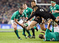 19th November 2016 | IRELAND vs NEW ZEALAND<br /> <br /> Tadhg Furlong during the Autumn Series International clash between Ireland and New Zealand at the Aviva Stadium, Lansdowne Road, Dublin,  Ireland. Photo by John Dickson/DICKSONDIGITAL