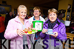 Julie Gleeson (PRO LHF), Mary Comerford and Mary Hanlon enjoying a cuppa at the Listowel Branch of the Kerry Hospice morning held in Christy's The Well bar in the Square, Listowel.