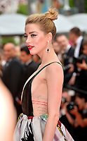 Amber Heard at the gala screening for &quot;Sorry Angel&quot; at the 71st Festival de Cannes, Cannes, France 10 May 2018<br /> Picture: Paul Smith/Featureflash/SilverHub 0208 004 5359 sales@silverhubmedia.com