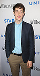 Alex Sharp backstage at United presents 'Stars in the Alley' in  Shubert Alley on May 27, 2015 in New York City.