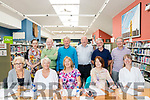 Outgoing facilitor Anne Marie NÍ Churreain on her final day at Kerry county Library Listowel with some friends.<br /> Front Row:<br /> Anne Riordan, Marian Relihan, Judy Carmody, Caroline Hurley, Josephine Francis.<br /> Back Row:<br /> Anne Marie NÍ Churreain, Matt Mooney, Jimmy Culinane, Liam Cummins, Gerard Hussey, Mick Joyce