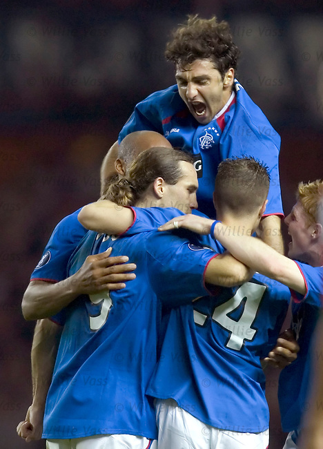 Zurab Khizanishvili, Rangers.stock season 2004-2005.pic willie vass
