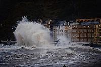 2014 01 06 Aberystwyth Storms