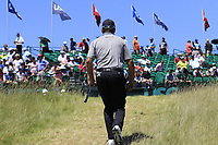Graeme McDowell (NIR) walks to the 1st tee to start his match during Friday's Round 2 of the 117th U.S. Open Championship 2017 held at Erin Hills, Erin, Wisconsin, USA. 16th June 2017.<br /> Picture: Eoin Clarke | Golffile<br /> <br /> <br /> All photos usage must carry mandatory copyright credit (&copy; Golffile | Eoin Clarke)
