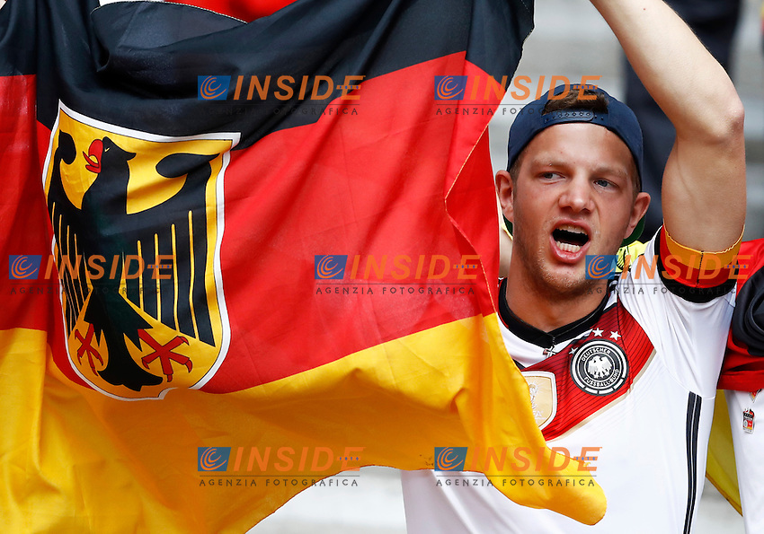 Germany supporters. tifosi<br /> Paris 21-06-2016 Parc des Princes Footballl Euro2016 Northern Ireland - Germany  / Irlanda del Nord - Germania Group Stage Group C. Foto Matteo Ciambelli / Insidefoto