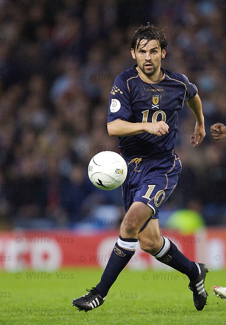 Paul Hartley, Scotland.stock season 2006-2007.pic willie vass