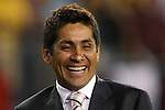 12 September 2007: Mexican legend Jorge Campos at the game. The Brazil Men's National Team defeated the Mexico Men's National Team 3-1 at Gillette Stadium in Foxborough, Massachusetts in an international friendly.