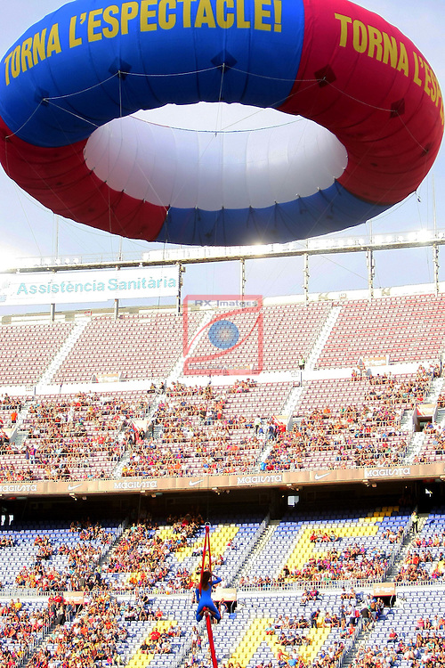 League Santander 2016/2017.<br /> 51e Trofeu Joan Gamper.<br /> FC Barcelona vs UC Sampdoria: 3-2.