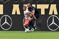Atlanta, Georgia - July 4, 2017: Atlanta United defeated the San Jose Earthquakes 4-2 in a Major League Soccer (MLS) game at Bobby Dodd Stadium.