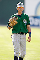 August 13, 2009:  J.J. Sferra of the Vermont Lake Monsters during a game at Dwyer Stadium in Batavia, NY.  The Lake Monsters are the Short-Season Class-A affiliate of the Washington Nationals.  Photo By Mike Janes/Four Seam Images