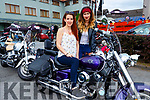Kamila Kdobak and Viktoria Vegso Killarney at Bike fest in Killarney on Sunday