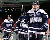 Brendan van Riemsdyk (UNH - 7) - The Northeastern University Huskies and University of New Hampshire Wildcats tied 2-2 on Saturday, January 14, 2017, at Fenway Park in Boston, Massachusetts.