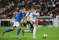 Julian Draxler (Deutschland, Germany) gegen Sander Puri (Estland, Estonia) - 11.06.2019: Deutschland vs. Estland, OPEL Arena Mainz, EM-Qualifikation DISCLAIMER: DFB regulations prohibit any use of photographs as image sequences and/or quasi-video.