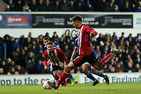 Tyler Walker of Lincoln City sees his penalty saved by Will Norris of Ipswich Town during Ipswich Town vs Lincoln City, Emirates FA Cup Football at Portman Road on 9th November 2019