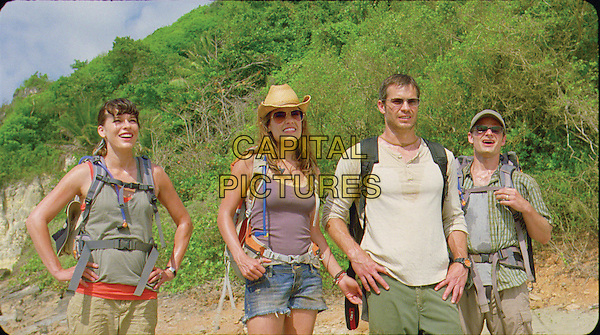 MILLA JOVOVICH, KIELE SANCHEZ, TIMOTHY OLYPHANT & STEVE ZAHN.in A Perfect Getaway.*Filmstill - Editorial Use Only*.CAP/FB.Supplied by Capital Pictures.