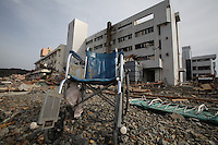 Minamisanrikumachi, Motoyoshi District, Miyagi Pref. North East Japan, Minamisanriku Town, Miyagi Pref. Japan, is one of the worst affected areas by the massive earthquake and tsunami that hit North East part of Japan on 11th March 2011. Minamisanriku is a town with the population of 17,000. Nearly a half of the population is still missing. The whole coastal towns in the North East Japan have been swept away by over 10-15 meter-high tsunami..14 Mar 2011