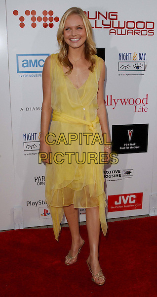 KATE BOSWORTH.Arriving @ The AMC and Movieline's Hollywood Life Magazine Young Hollywood Awards held at The El Rey                       .full length, full-length, yellow dress, flowing, summery.www.capitalpictures.com.sales@capitalpictures.com.©Capital Pictures