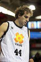 Roger Grimau. FC Barcelona Regal vs Uxue Bilbao Basket