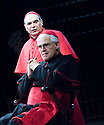 The Last Confession by Roger Crane ,directed by David Jones. With David Suchet as Cardinal Giovanni Benelli,Bernard Lloyd as Cardinal Villot. Opens at the Theatre Royal Haymarket on 2/7/07   CREDIT Geraint Lewis