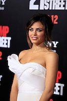 LOS ANGELES, CA - MAR 13: Jenna Dewan at the premiere of Columbia Pictures '21 Jump Street' held at Grauman's Chinese Theater on March 13, 2012 in Los Angeles, California