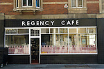 Regency Café  Westminster London SW1 UK.