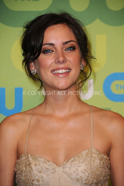 WWW.ACEPIXS.COM . . . . . ....May 21 2009, New York City....Actress Jessica Stroup arriving at the 2009 The CW Network UpFront at Madison Square Garden on May 21, 2009 in New York City.....Please byline: KRISTIN CALLAHAN - ACEPIXS.COM.. . . . . . ..Ace Pictures, Inc:  ..tel: (212) 243 8787 or (646) 769 0430..e-mail: info@acepixs.com..web: http://www.acepixs.com
