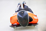 17 December 2010: Matthew Antoine sliding for the USA, finishes in 4th place at the Viessmann FIBT Skeleton World Cup Championships in Lake Placid, New York, USA. Mandatory Credit: Ed Wolfstein Photo
