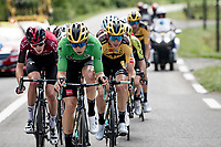 relatively soon into the stage an elite breakaway group was formed with some big hitters present; Wout Van Aert (BEL/Jumbo-Visma) at the helm here...<br /> <br /> Stage 5: Megève to Megève (154km)<br /> 72st Critérium du Dauphiné 2020 (2.UWT)<br /> <br /> ©kramon