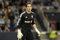 Troy Perkins   goalkeeper   Montreal Impact..Sporting Kansas City defeated Montreal Impact 2-0 at Sporting Park, Kansas City, Kansas.